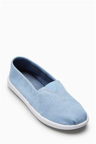 Next Boys Blue Chambray Espadrilles