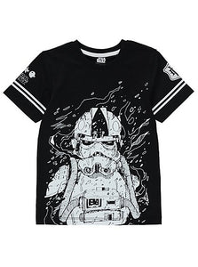Star Wars Stormtrooper T-Shirt Black - Stockpoint Apparel Outlet
