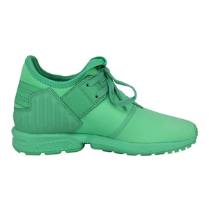 e5699f5f91c Adidas Originals ZX Flux Plus K Green Boys/Girls Sneakers ...