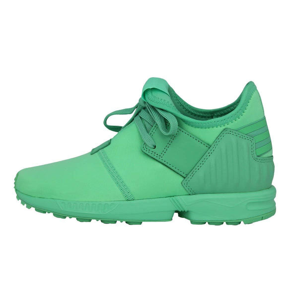 Adidas Originals ZX Flux Plus K Green Boys/Girls Sneakers