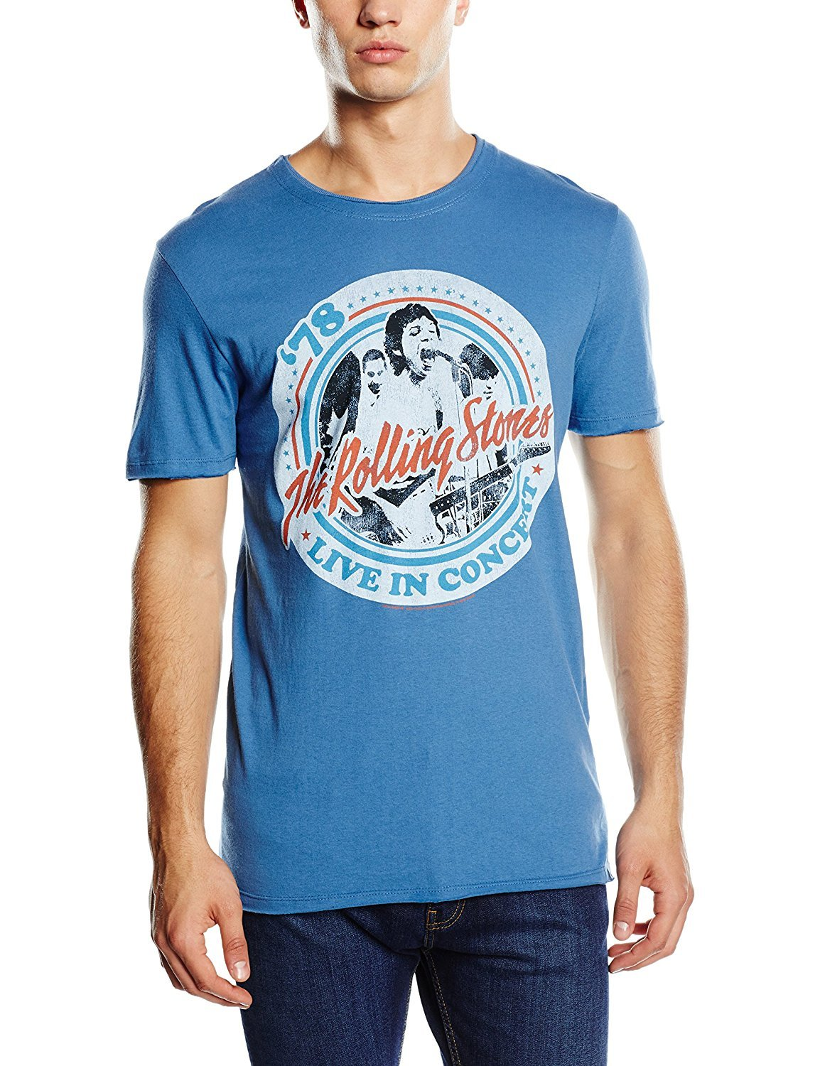 Amplified Mens Rolling Stones T-Shirt