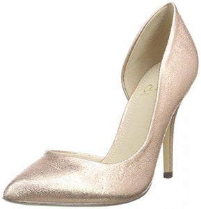 Another Pair of Shoes Womens Rose Gold Phoebe Stiletto Heel Shoes