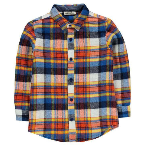 Crafted Boys Checked Shirt