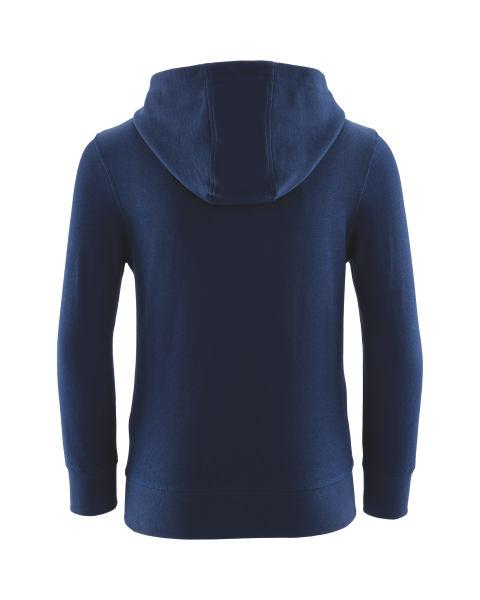 Crane Navy Hooded Sweater - Stockpoint Apparel Outlet