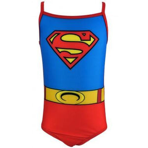 DC Comics Girls Supergirl Swimming Costume