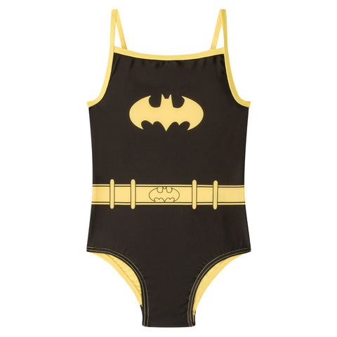 DC Comics Batman Girls Swim Suit Costume Black