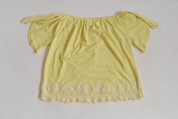 George Ladies Yellow Top - Stockpoint Apparel Outlet