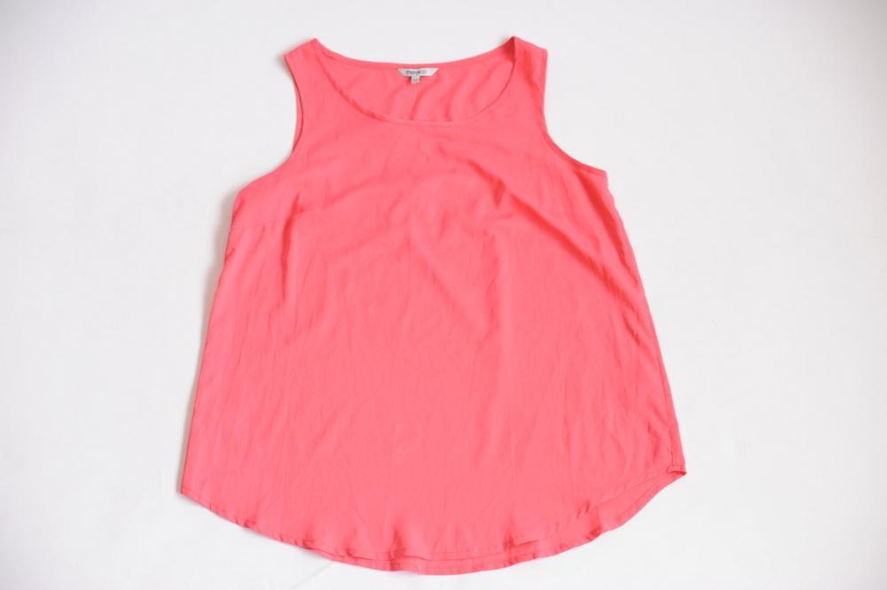 Pep & Co Ladies Pink Sleeveless Top - Stockpoint Apparel Outlet