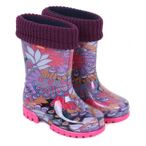 Demar Girls Wellington Rain Boots