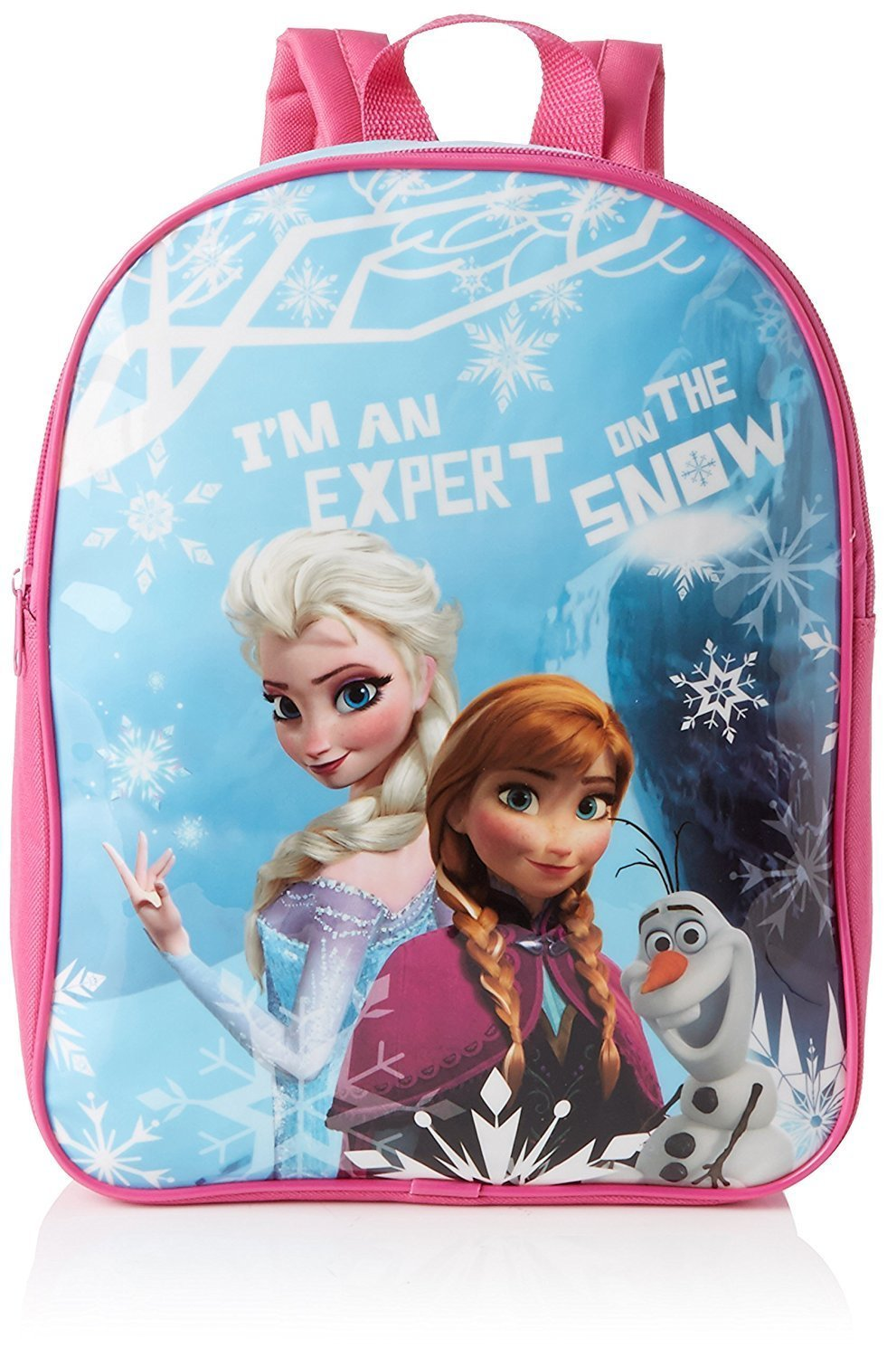 "Disney Frozen ""I'm an Expert on The Snow"" Premium Large Backpack"
