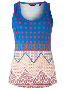 Dorothy Perkins Womens Tile Chevron Vest Top