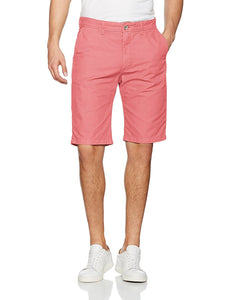 Esprit Mens Pink Denim Shorts