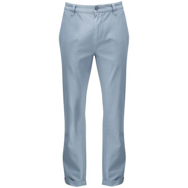 Farah Flat Front Rush Chinos Storm Blue - Stockpoint Apparel Outlet