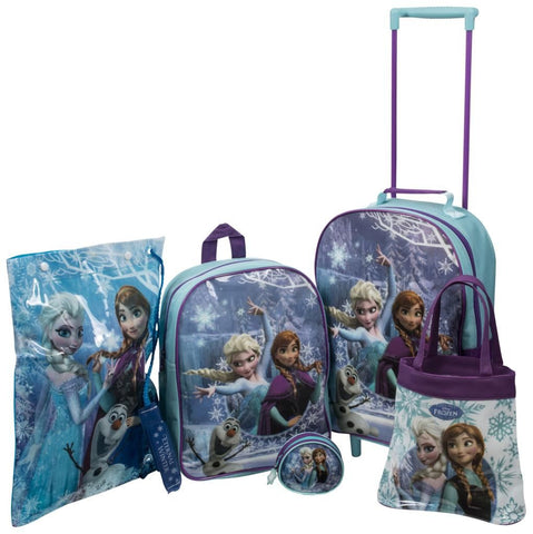 Frozen Girls 5 Piece Trolley Set