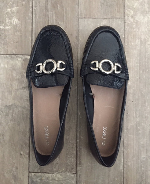 Next Navy Boat Shoes - Stockpoint Apparel Outlet