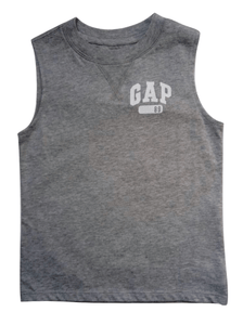 GAP Grey T-Shirt Vest - Stockpoint Apparel Outlet