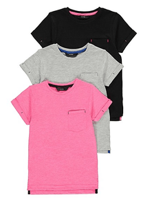 George Assorted T-Shirts 3 Pack - Stockpoint Apparel Outlet