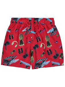 George Boys Crocodile Print Swim Shorts - Stockpoint Apparel Outlet