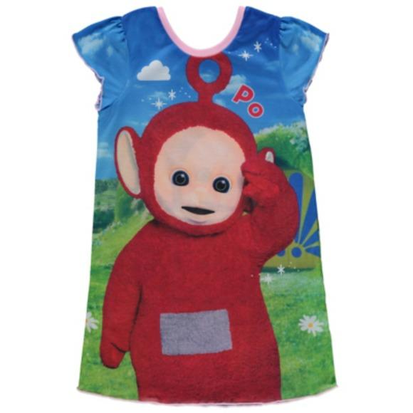 Teletubbies Baby Girls Multi Wear 4 Ways Nightdress