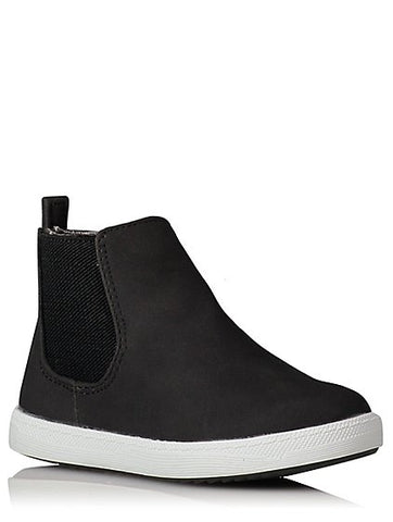 George Boys Zip-Up Chelsea Boots