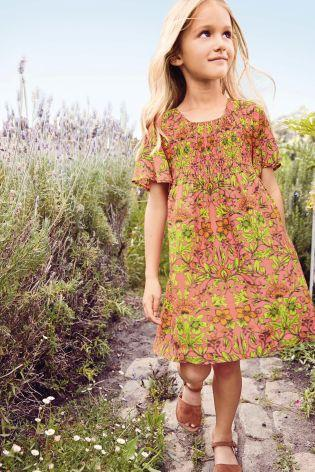 Next Girls Floral Dress