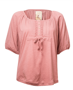 Next Womens Pink Smock Top