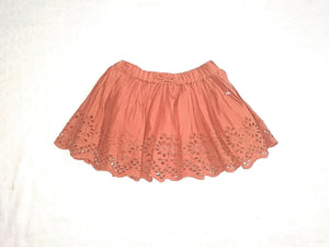 Next Baby Girls Lace Perforated Skirt