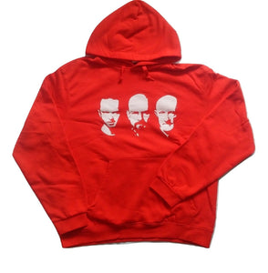 B&C Collection Touchlines - Walter Jesse Mike Faces Men's Red Hoodie
