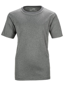 James Nicholson Kids Unisex Active Sports T-Shirt Grey