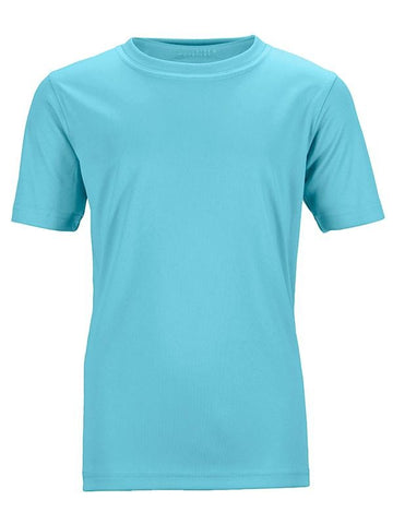 James Nicholson Kids Unisex Active Sports T-Shirt Pacific