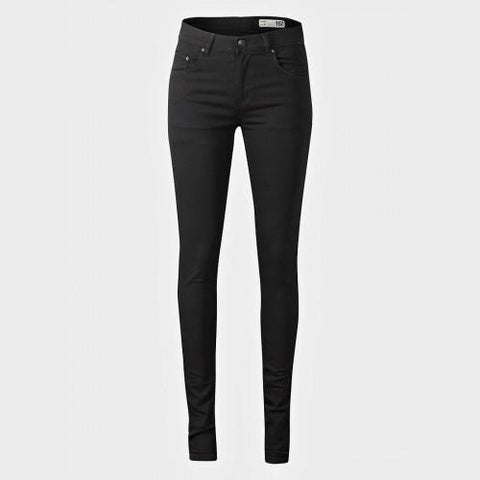 157 Black Womens Skinny Fit Jeans