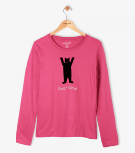 Little Blue House by Hatley Long Sleeve Tee - Bear Naked Size - Stockpoint Apparel Outlet