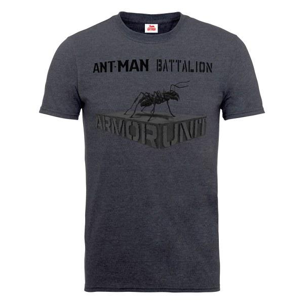 Marvel Men's Ant Man Batallion Dark Heather T-Shirt - Stockpoint Apparel Outlet