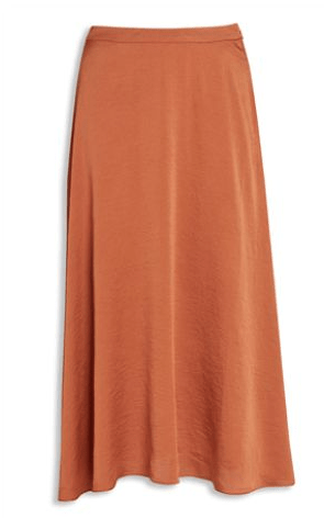 Next Womens Tan Maxi Skirt