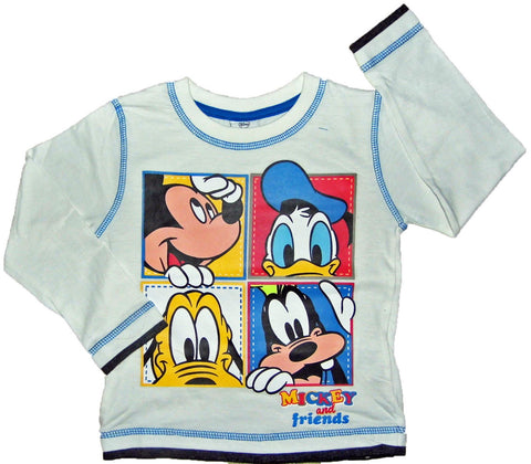 Mickey & Friends Boys Long Sleeve Top - Stockpoint Apparel Outlet