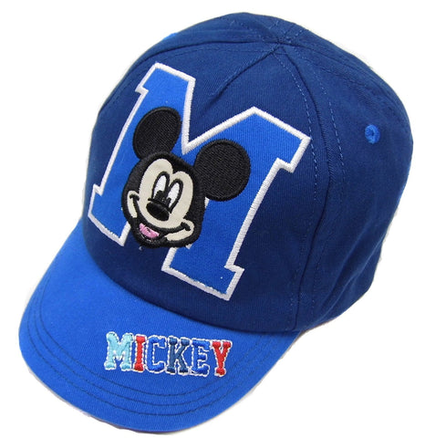 Mickey Mouse Baby Boys Baseball Cap Summer Hat M is for Mickey