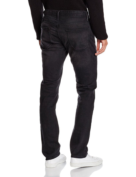 New Look Mens Drake Black Washed Slim Jeans - Stockpoint Apparel Outlet