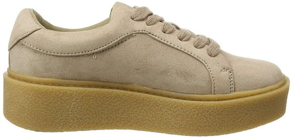 New Look Motley Womens/Girls Biege Trainers