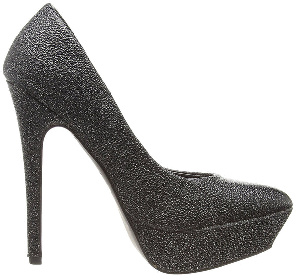 New Look War Rhodium(95) Womens Platform Pumps