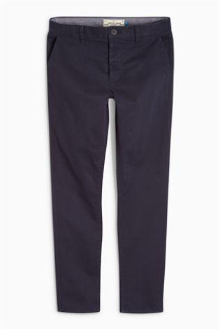 Next Men's Chinos Dark Blue