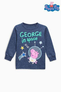 Next Baby Boys George In Space Blue Top