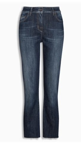 Next Cropped Flare Womens Jeans