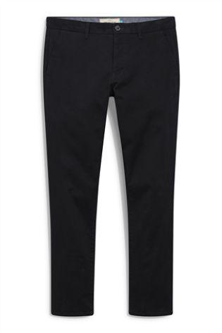 Next Men's Chinos Black