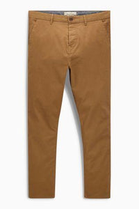 Next Men's Chinos Brown - Stockpoint Apparel Outlet