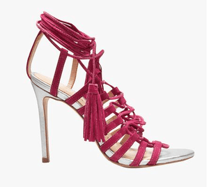 Next Signature Leather Lace-Up Sandals