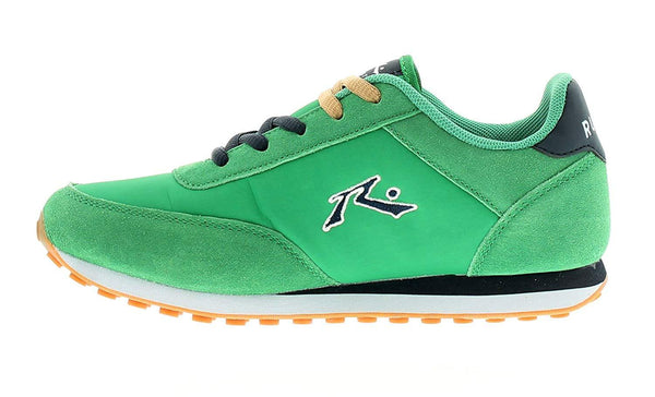 Wynsors Rusty 2 Boys Suede And Nylon Upper Green Trainers