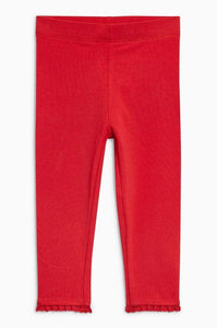 Next Baby Girls Red Leggings