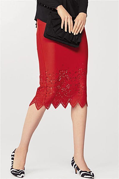 Next Womens Red Pencil Skirt