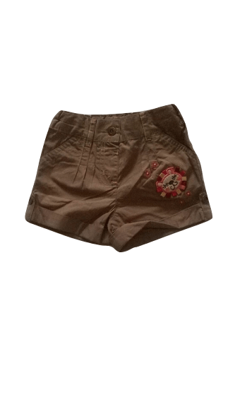Mini Mode Baby Cub Brown Shorts - Stockpoint Apparel Outlet
