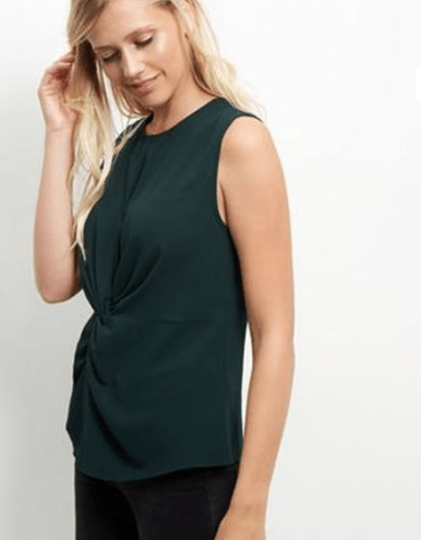 New Look Twist Front Shell Top - Stockpoint Apparel Outlet